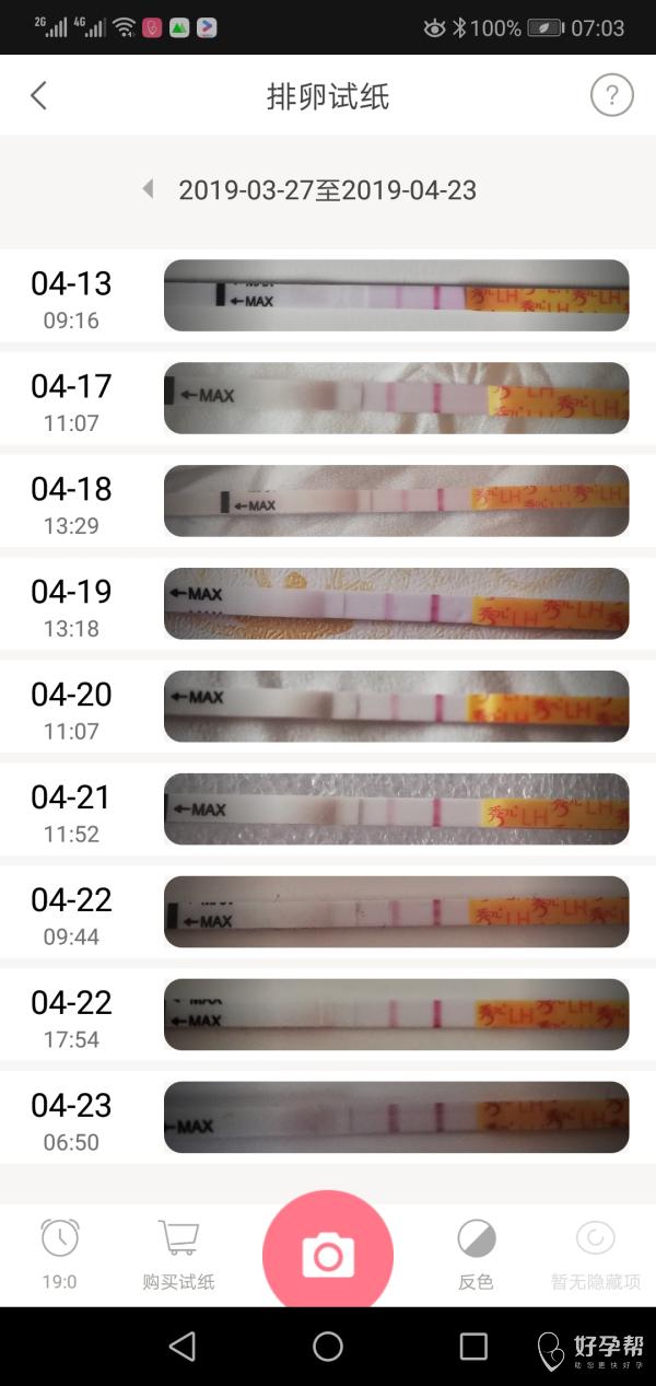 我怀啦 本来想下个月要孩子,这个月体外避孕,竟然怀孕了